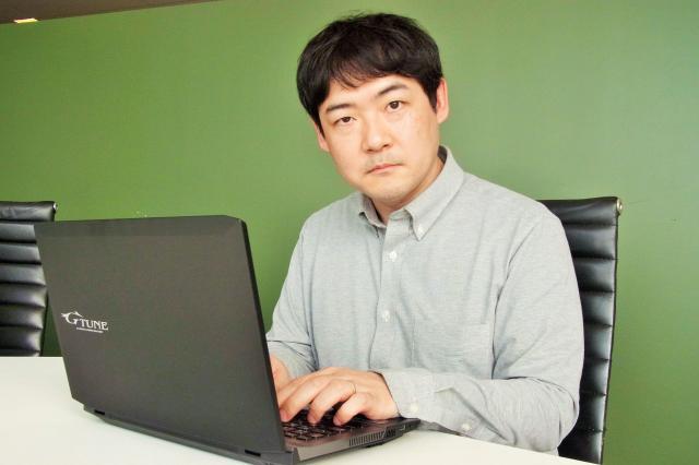 「クイキン」生みの親、後藤裕之さん。クイズ番組の製作に関わったこともあるというクイズのエキスパート