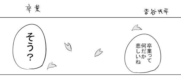 漫画「卒業」(1)