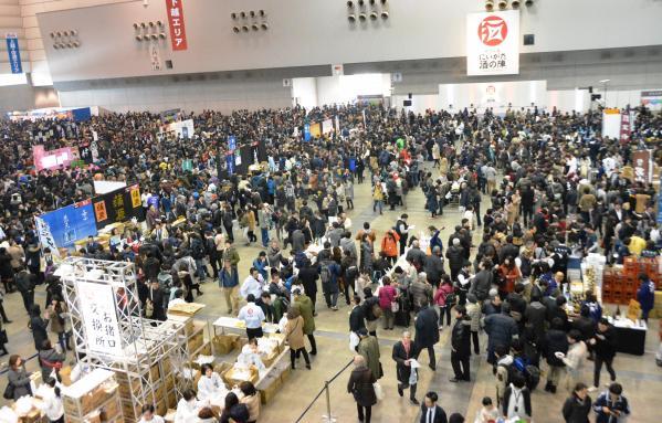 2日間で約13万人が来場した「にいがた酒の陣」