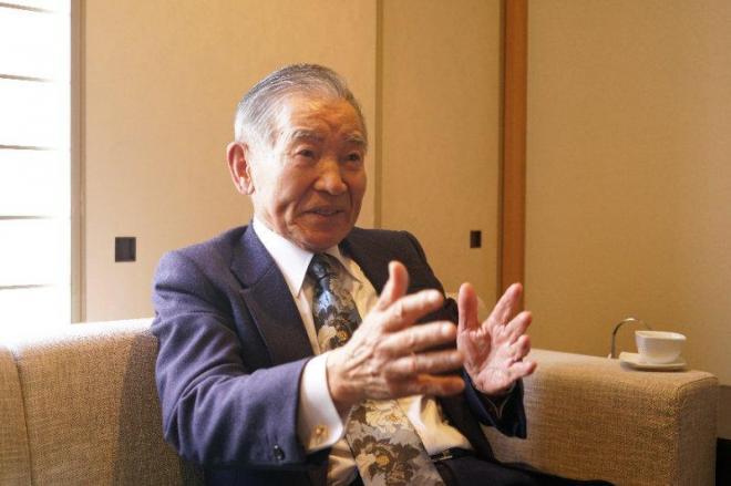 脱原発の理念を語る村田光平・元スイス大使