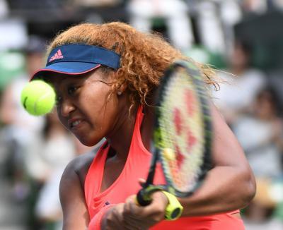 テニスは「庭球」。写真は大坂なおみ選手