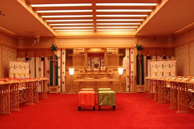 神前結婚式(写真はイメージです)