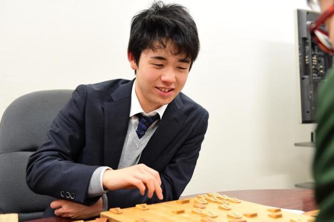 中学生棋士として連勝を続ける藤井聡太四段