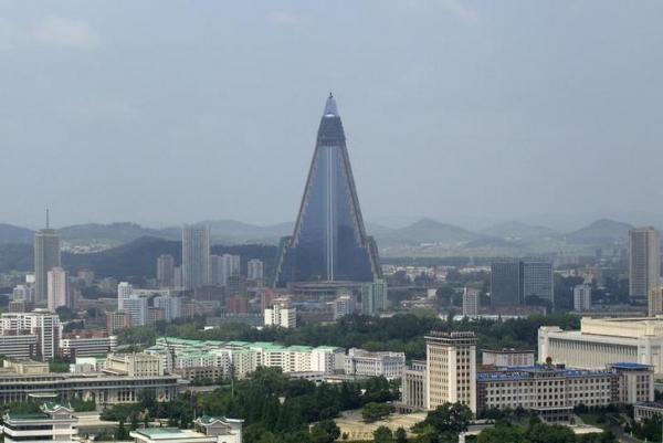 北朝鮮の「柳京ホテル」