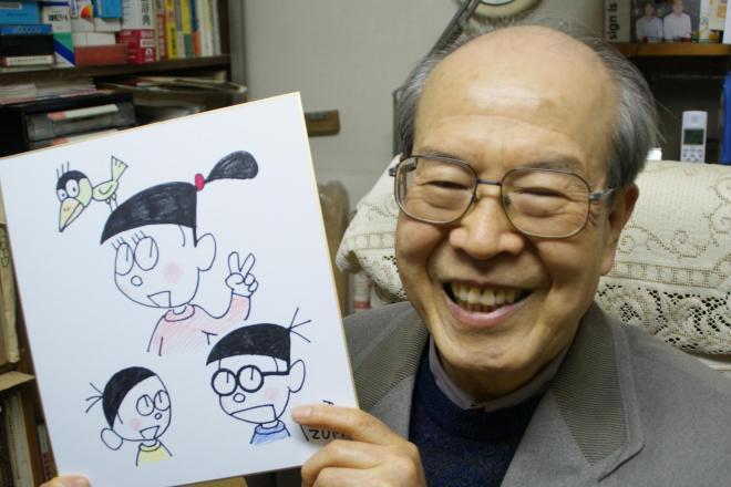 4コマまんがの連載回数がギネス世界記録に認定された泉昭二さん