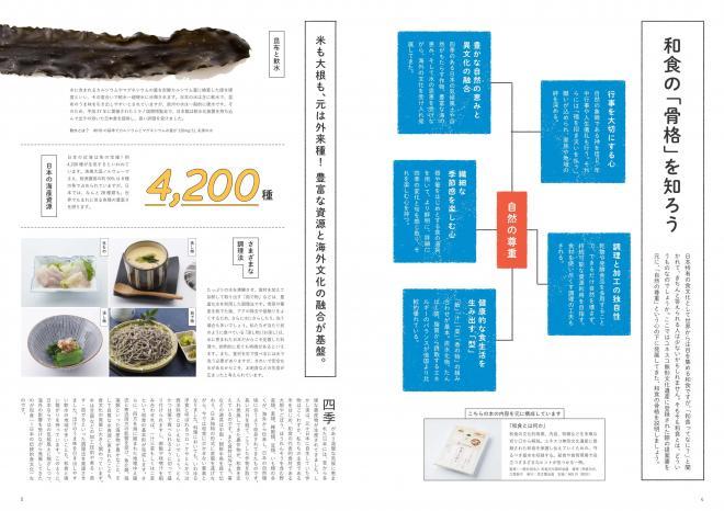 冊子「和食給食」の和食についての解説