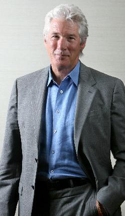 ハリウッド版の「ハチ公物語」で主演したリチャード・ギアさん