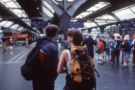 ヨーロッパ各地へとつながるスイスのチューリヒ中央駅