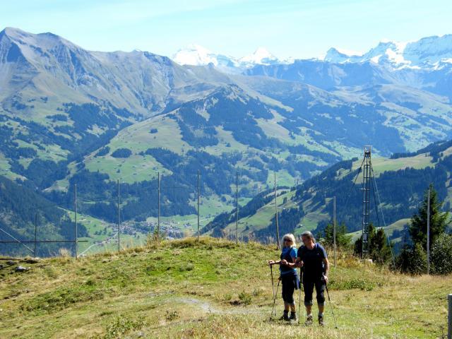 スイス・ツバイジンメンのスキー場=2013年