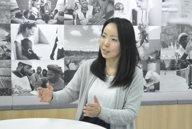 国境なき医師団の看護師・白川優子さん