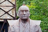 静岡県伊豆の国市にある「パン祖」江川英龍像