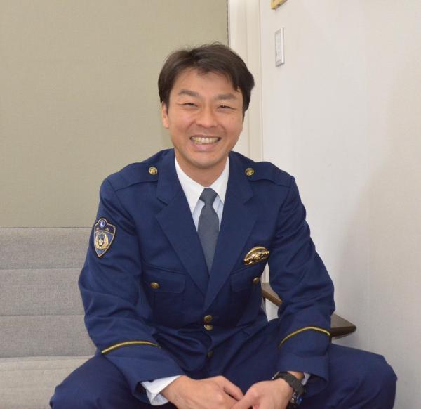 「中の人」としてネタを日々、ひねり出しているペンネームは「警部」の中田和男警部
