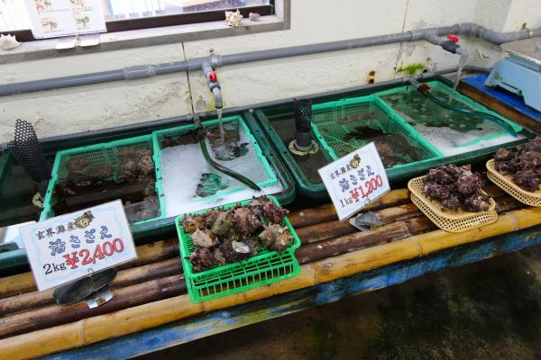 水産直場所では旬の魚や水産加工品が買える