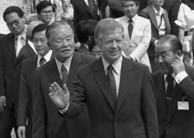 1979年にアメリカ大統領として来日した際のジミー・カーター氏