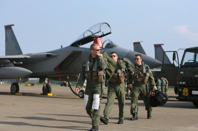 アメリカ軍のパイロット(2007年)