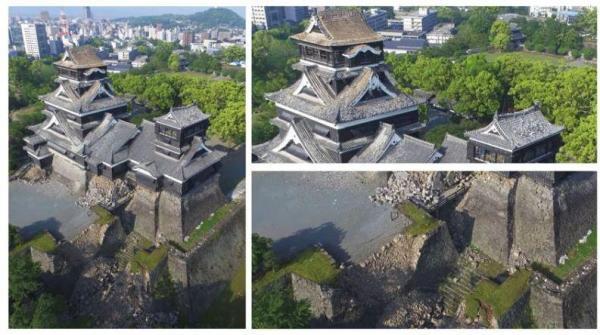 段ボールの熊本城ができるまで