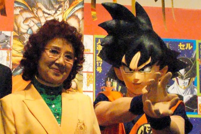 既存のアニメキャラクターがマスコットになることは「まずあり得ない」そうです。実現したら声優の野沢雅子さん(左)も喜んだ!?