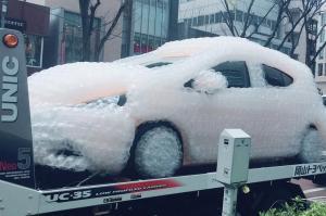 岡山県民「ウィンカー嫌い」の理由 だったらプチプチで包んじゃえ?