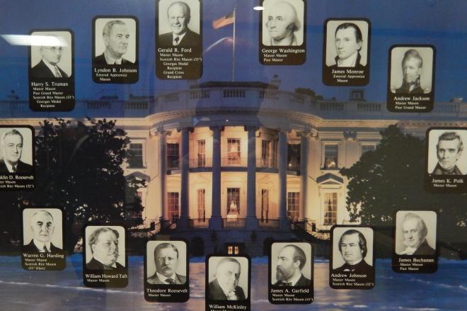 フリーメイソン会員だった歴代アメリカ大統領たち