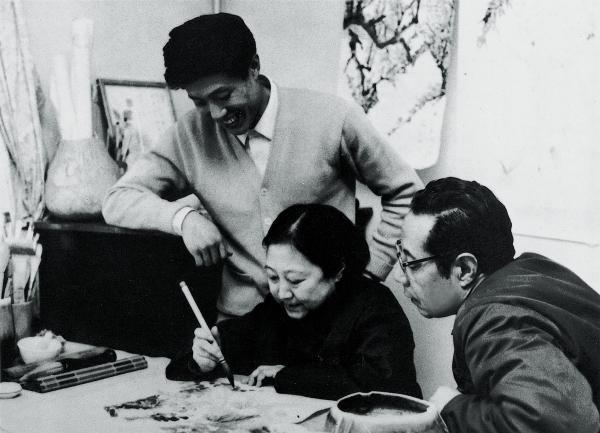 王昭さんと画家の両親