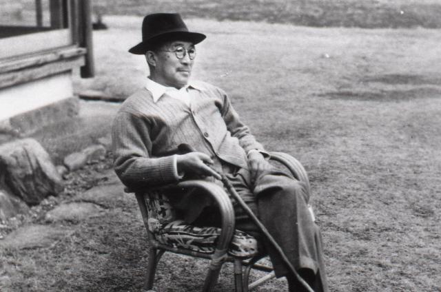 鳩山一郎元首相(1952年撮影)