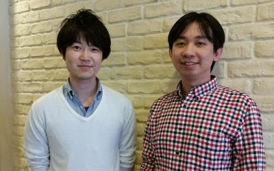 「TUNER」を管理している金杉さん(右)と澤田さん=ニッポン放送本社