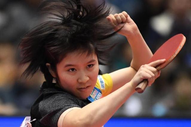 卓球の平野美宇選手。2017年4月にあったアジア選手権の女子シングルス決勝で世界ランキング5位の陳夢(中国)にストレート勝ちし優勝した