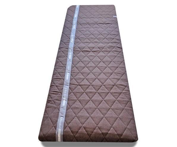 サイズは幅680×長さ2000㎜。大人1名分として十分なサイズ。丸めれば直径30㎝ほどにまとまる「J-Sleepアクティブ」