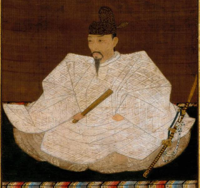 豊臣秀吉の肖像画=2016年、神戸市立博物館蔵