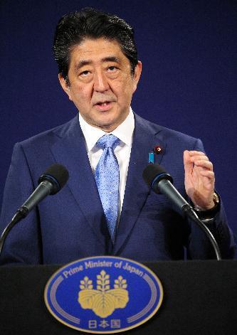 アメリカでの調査で1位になった安倍晋三首相。中国・韓国・タイでも1位だった