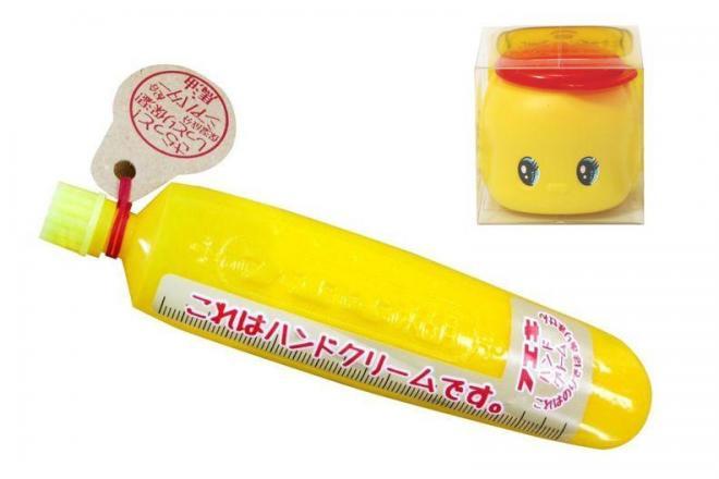 フエキ糊のハンドクリーム(右上の商品は現在販売していません)