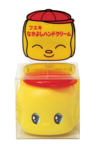 2008年に発売された「フエキなかよしハンドクリーム」(現在は販売されていません)