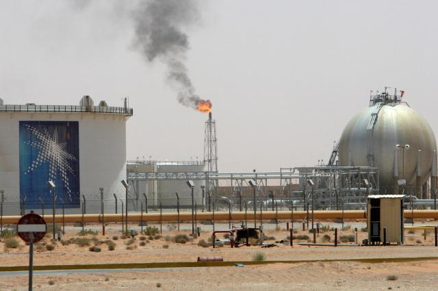 サウジアラビアの油田=2008年6月23日