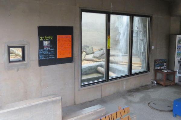 エゾヒグマ「とんこ」が飼育されている「もうじゅう館」