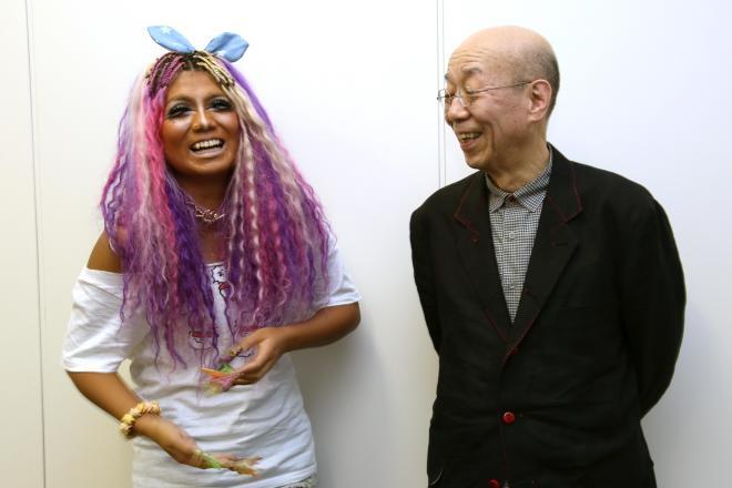 ガングロギャル、ぇりもっこりさんと哲学者の鷲田清一さん