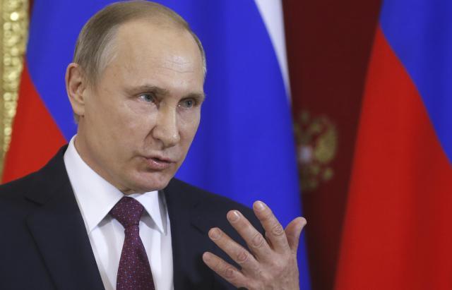 ロシアのプーチン大統領=2017年1月17日