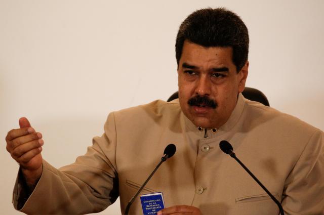 ベネズエラのマドゥロ大統領=2017年5月3日