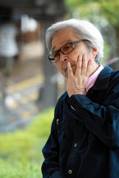 のんさんと対談した山田洋次監督=鬼室黎撮影