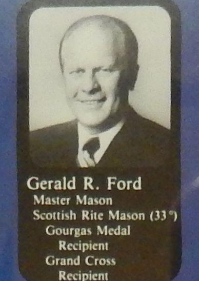 フリーメイソン会員だったアメリカ大統領経験者