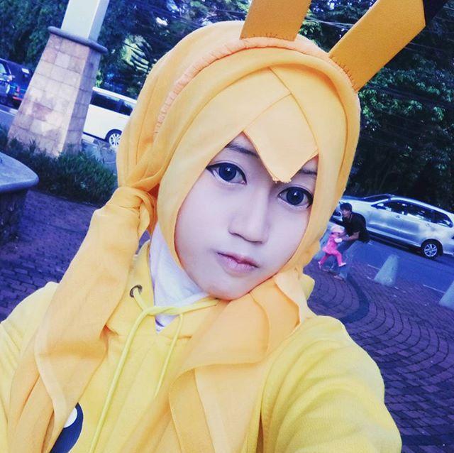 インドネシア人、rai_arima17さんのコスプレ