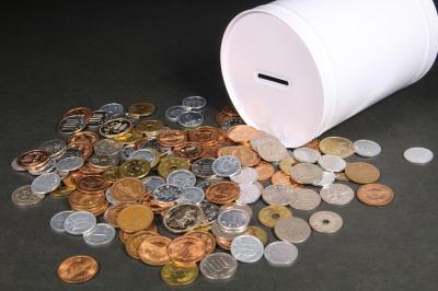 落ちた小銭は、缶にまとめて入っていたものだった(画像はイメージです)