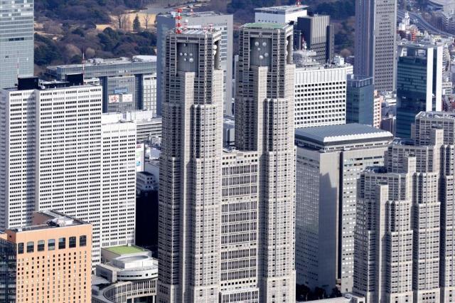 東京都庁=2017年2月22日