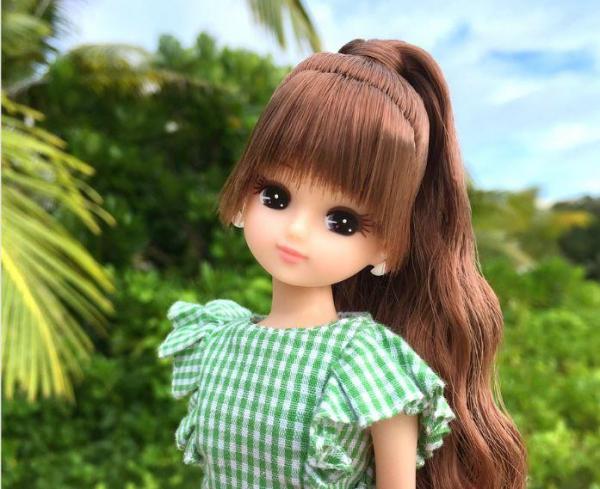 リカちゃんが「立夏」に投稿した写真=© TOMY