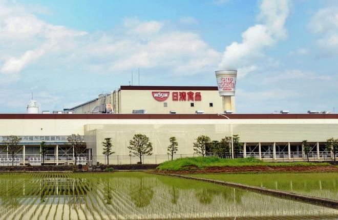 日清食品の関東工場