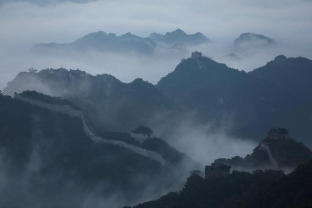 万里の長城=北京・中国、2017年6月
