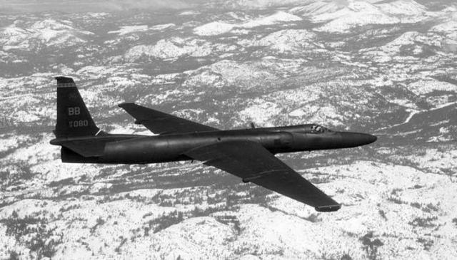 アメリカ空軍のU2偵察機=ロイター