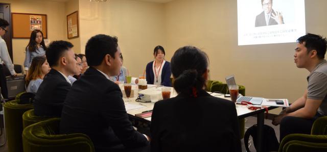 ASEAN地域出身の就活生向けのセミナー=6月1日、東京都新宿区、野口みな子撮影