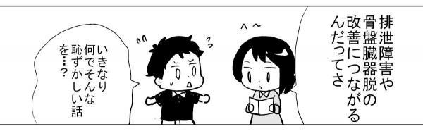 漫画「性器セルフケア」(2)