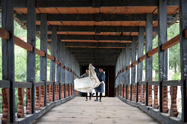 2017年6月5日、ブータン・パロ、北村玲奈撮影