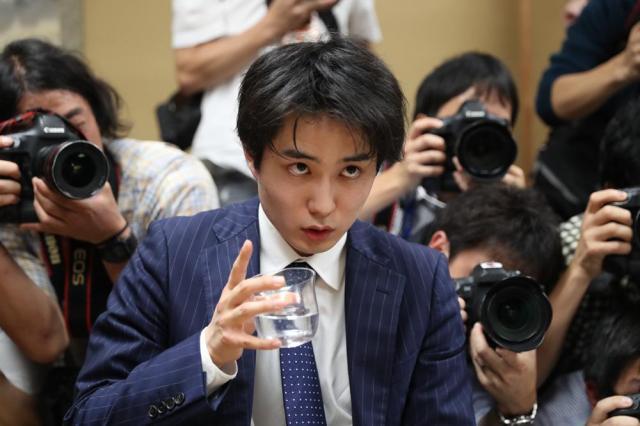 7月2日、東京都渋谷区の将棋会館、遠藤啓生撮影